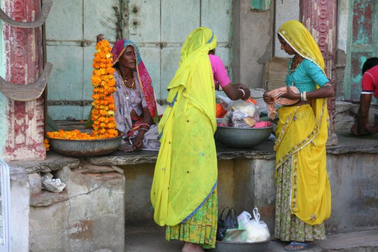 Роль женщины в Индии